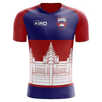 2018-2019 Cambodja Home Concept voetbalshirt