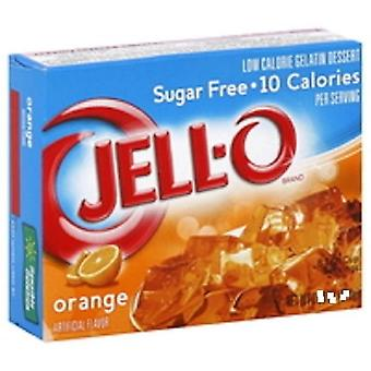 Jell-O Orange Sugar Free Instant Jello Gelatin Mix