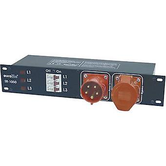 Eurolite SB-1050 19 Stromverteiler 6x 2 He