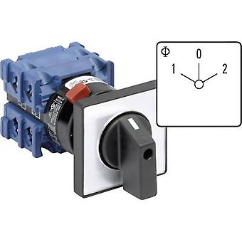 Kraus & Naimer CH10 A210-600 FT2 Changeover switch 20 A 2 x 60 ° Grey, Black 1 pc(s)