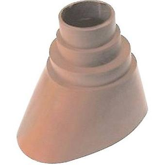 A.S. SAT 47150 Mast rubber cuff Suitable for pole Ø (max.): 60 mm Brick red