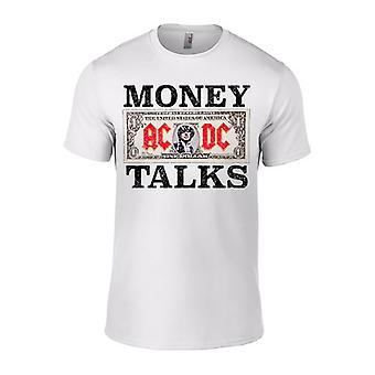 AC/DC pieniądze mówi biały T-Shirt męska