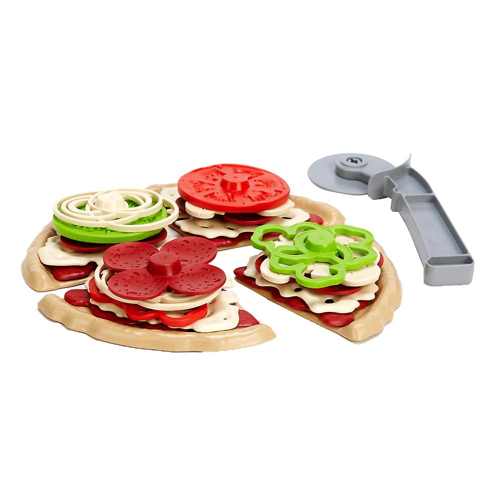 Green Toys Pizza Parlour Pretend Play Food Imagination Fun Learning