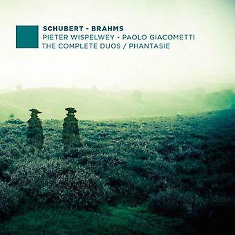 Schubert / Brahms / Wispelwey / Giacometti - Schubert / Brahms / Wispelwey / Giacometti: Complete Duos & Phantasie [CD] USA import