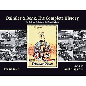 Daimler og Benz: hele historien - fødselen og utviklingen av Mercedes-Benz