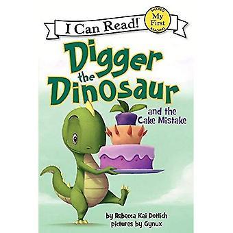 Digger der Dinosaurier und der Kuchen-Fehler