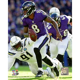 Lamar Jackson 2018 AFC Wild Card Game Photo Print