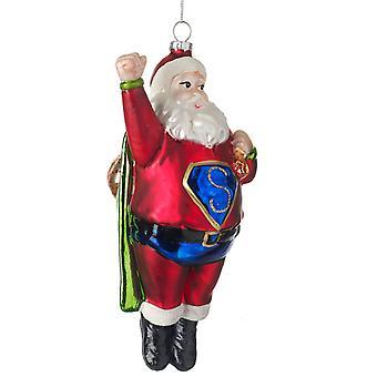 Gisela Graham lasi Santa robotti keräily joulu koristeita