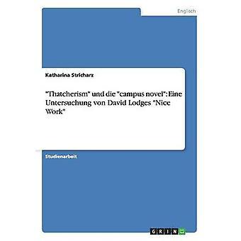 Thatcherism und die campus roman Eine Untersuchung von David Lodges flot arbejde af Stricharz & Katharina