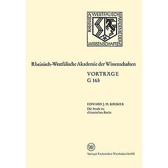 Die Strafe im chinesischen Recht di Kroker & Eduard J. M.