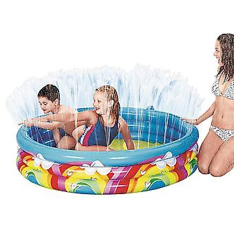 Benross Rainbow Spray Pool 150x30cm Children's Kids Paddling Pool with Sprayer