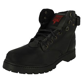 Mens Magnum Lace Up Work Boots Bronx