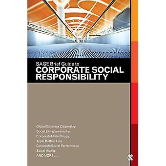 سيج دليل موجز على المسؤولية الاجتماعية للشركات من قبل سيج Publicati