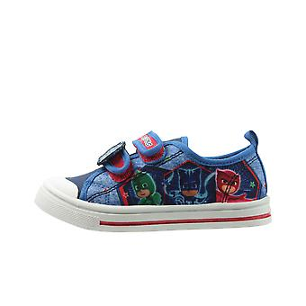 PJ Masks Boys Douglas Low Top Casual Trainers UK Sizes Child 6-12