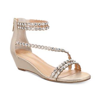 Thalia Sodi Womens Tachani Fabric Open Toe Casual Strappy Sandals