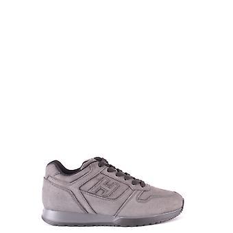 Hogan Ezbc030123 Herren's Graue Wildleder Sneakers