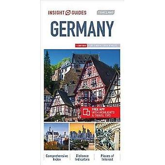 Insight Guides Travel Map Germany - 9781786719089 Book
