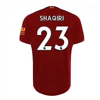 2019-2020 Liverpool Home Football Shirt (Shaqiri 23)