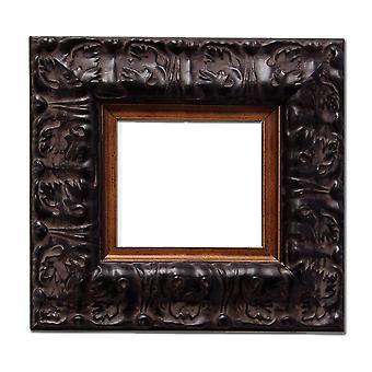 2 Stück, 7, 5x7, 5 cm oder 3x3 Zoll, Fotorahmen in schwarz