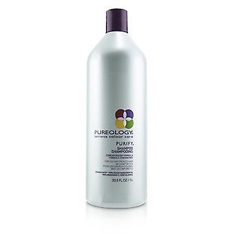 Pureology Purify Shampoo (for Colour-treated Hair With Impurities) - 1000ml/33.8oz