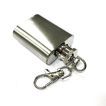 Small stainless Hip-flask 30ml / 1oz