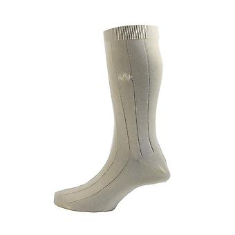 Sea island cotton socks – cream