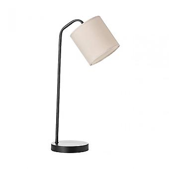 Premier Home Tribeca Table Lamp / Uk Plug, Métal, Noir