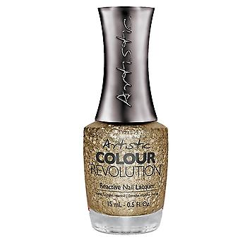 Artistic Colour Revolution Professional Reactive Hybrid Nail Lacquers - Glamorous 15ml (2303123)