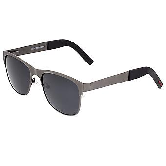 Breed Hypnos Titanium Polarized Sunglasses - Gunmetal/Black