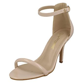 Dames Anne Michelle Wide Fitting Heeled Sandals F10911