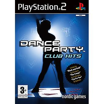 Dance Party Club Hits (PS2) - Ny fabrik forseglet