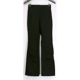 Slimming Options for Kate & Mallory Ponte Bootleg Green Leggings A411955