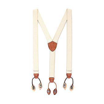 LLOYD suspenders men suspenders beige 3411