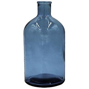 Heinu Heinu bottle Retro blue 22cm (Decoration , Jars)