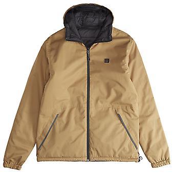 Billabong menn ' s reversibel puffer Jacket ~ transport 10k Revo leire