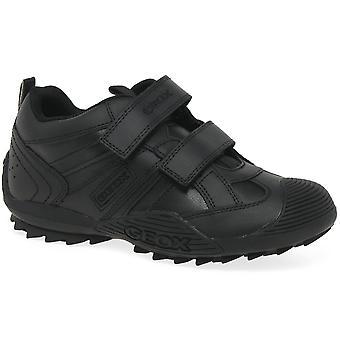 Geox Jnr villi Black Boys Boot