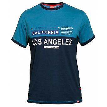 DUKE Duke Los Angeles Panel T Shirt