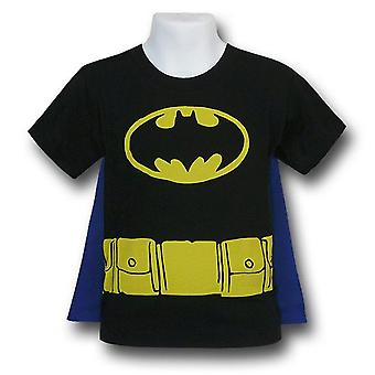 Batman Kinder Kostüm Caped T-Shirt