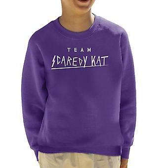 Team Scaredy kat UK drag race Kid ' s Sweatshirt