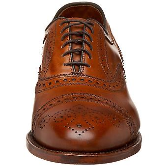 Allen Edmonds Mens Strand nahka pitsi ylös mekko oxfords