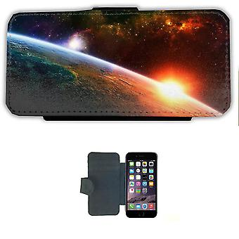 Space Sunrise iPhone 6/6s wallet case Pouch wallet Shell