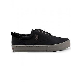 U.S. Polo - Shoes - Sneakers - GALAN4142W8_Y1_BLK - Men - Schwartz - 44