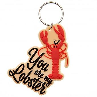 Friends PVC Keyring Lobster