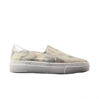 Remonte R3100-91 Rose Multicoloured Camouflage Leather Womens Slip On Shoes