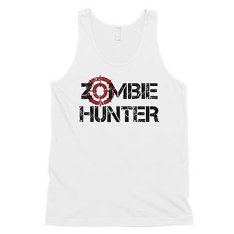 Zombie Hunter miesten valkoinen badass viileä vahva rohkea säiliö alkuun gag lahja