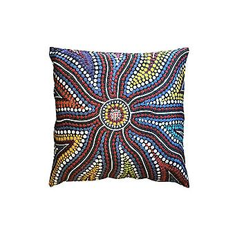Sunshine Aboriginal Design Cushion Cover