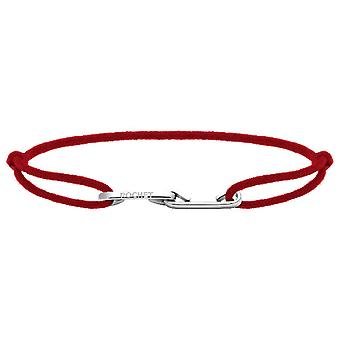 Rochet B226005 Armband - LIEBE Stahl mit Cordon Rouge R Glable Männer