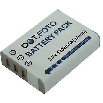 Dot.Foto Ricoh DB-90 udskiftningsbatteri - 3.7V / 1800mAh
