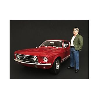 70\'S Style Figure Vii For 1:18 Scale Models Par American Diorama