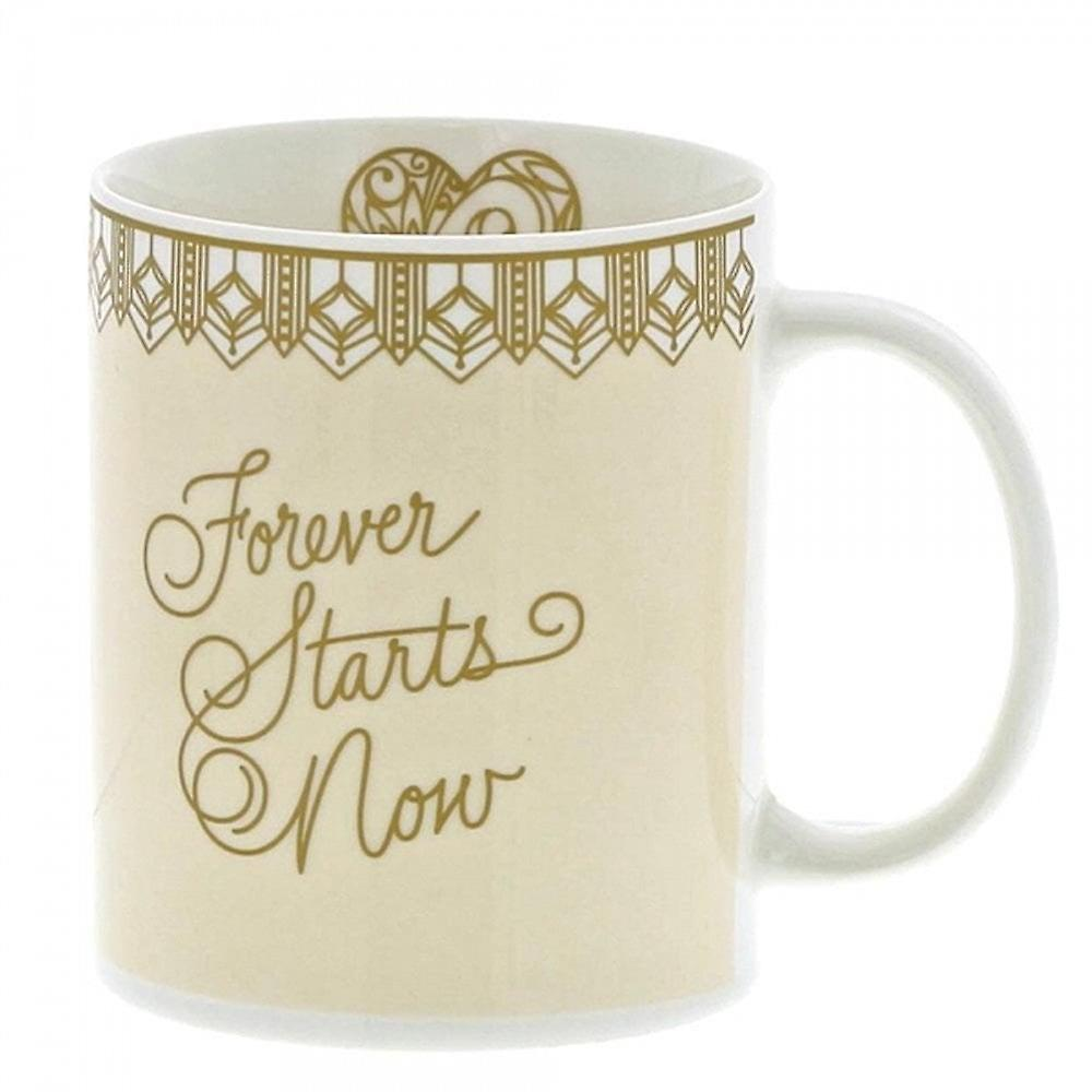 Love Always Collection Forever Starts Now Mug